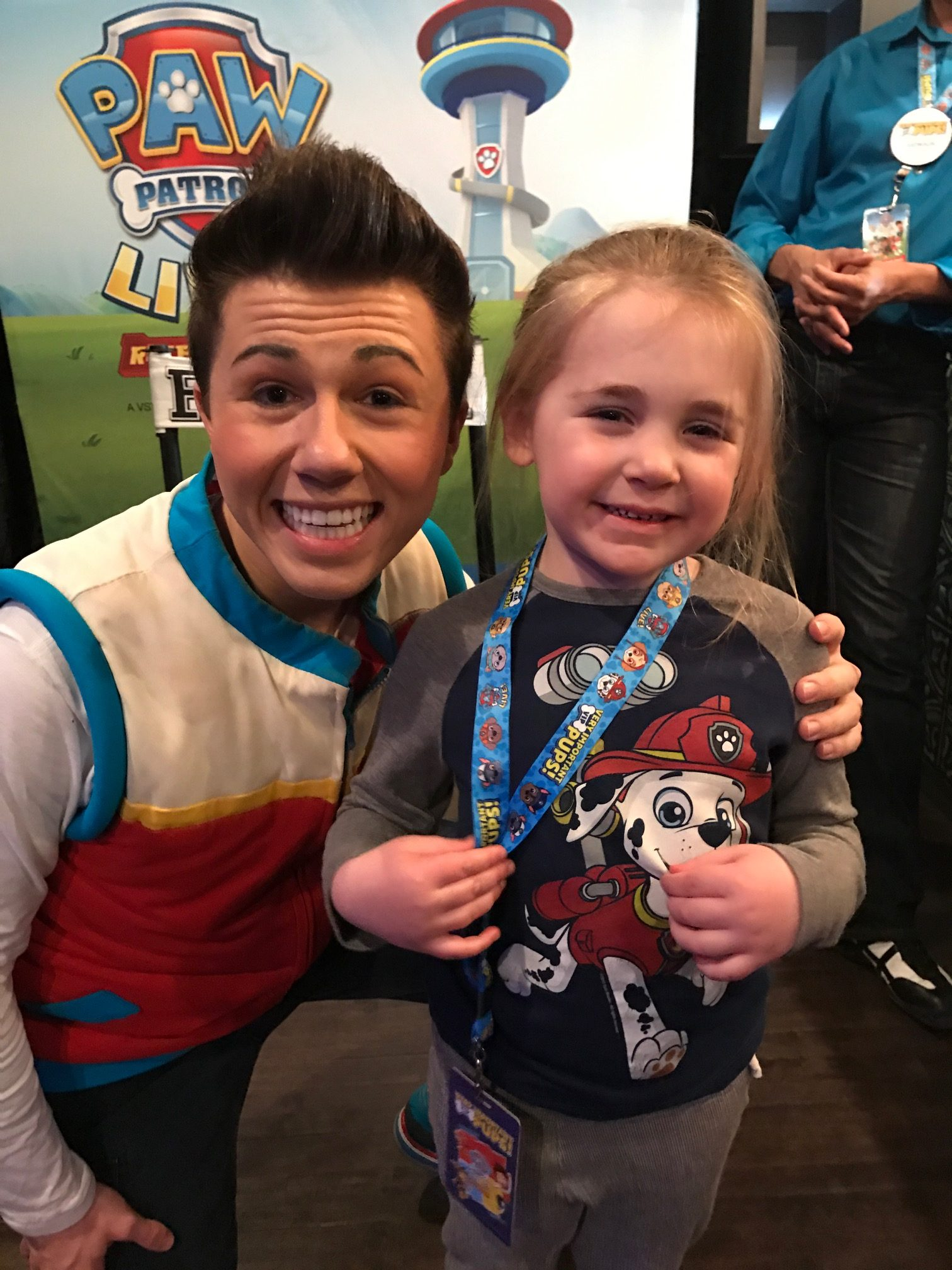 Paw Patrol Meet And Greet Chase Marshall At Youtube | News ...